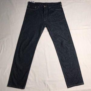 Levi's Jeans - Levi's Men's 562 Loose Taper Denim Blue Jeans 34